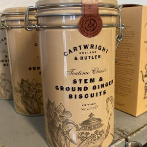 Stem & ground ginger biscuits
